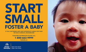 Start Small Small - Foster a Baby